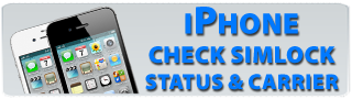 Check iphone network simlock status